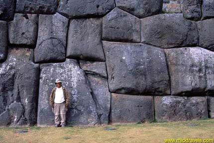 Los misteriosos muros del Peru
