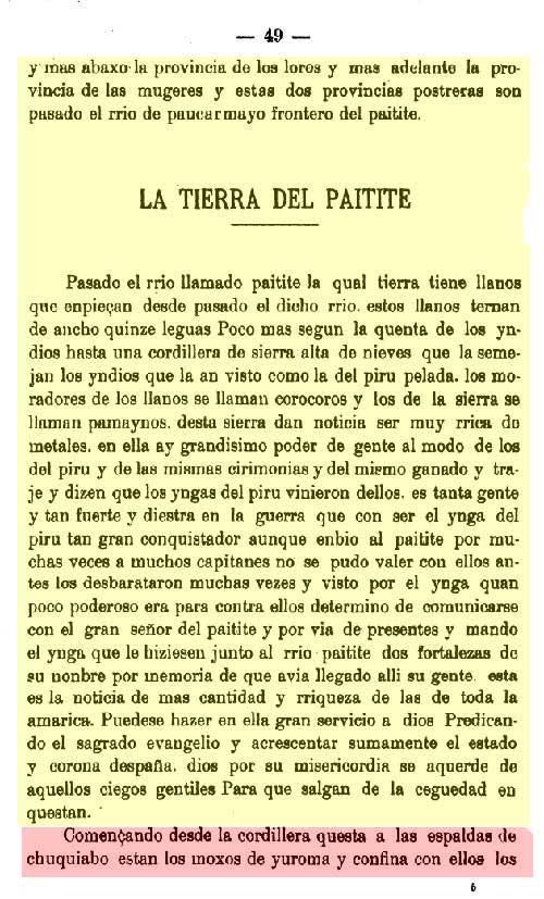 La tierra de Paitite