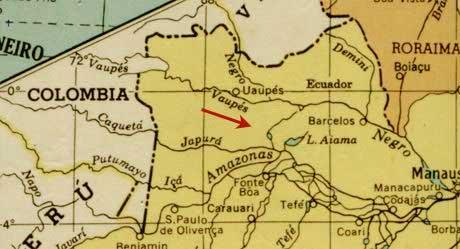 Los mapas historicos y el dorado mapa ros caqueta vaupes altavistaventures Choice Image